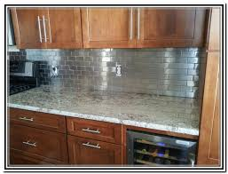 Stainless Steel Backsplash Lowes Impressive Art Interior Home - Stainless steel backsplash lowes