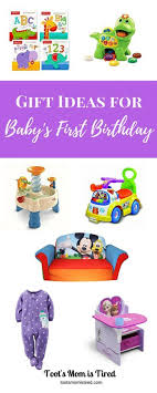 gift ideas for baby s birthday toot s is tired