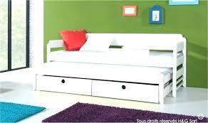 canapé avec lit tiroir lit gigogne banquette lit tiroir lit canape avec lit tiroir 3 lit