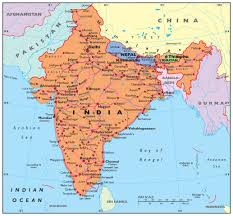 Chennai India Map by India Credo Reference