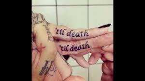 ring finger love tattoos youtube