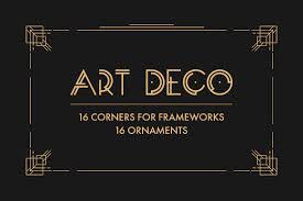 art deco photos graphics fonts themes templates creative market