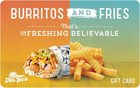 fast food gift cards taco gift cards