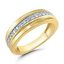 mens gold diamond rings men s wedding bands men s wedding rings sears