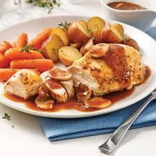 cuisiner poulet entier poulet entier aux légumes racines à la mijoteuse soupers de