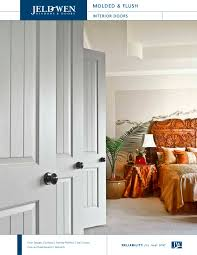 Flush Interior Door by Molded And Flush Wood Composite Interior Doors Jeld Wen Pdf