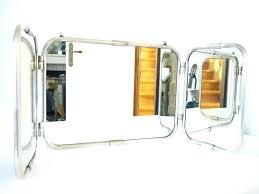 Tri Fold Bathroom Mirror by French Bathroom Mirror U2013 Hondaherreros Com