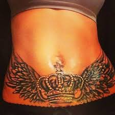 image result for pictures of tattoos to cover stretch marks on