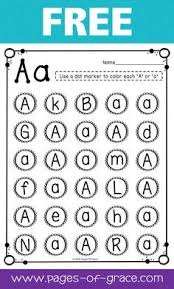 alphabet practice printables phonics handwriting and students