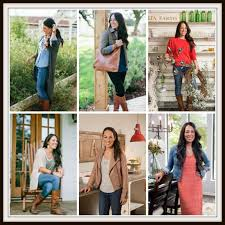 the rooney family celebrity style joanna gaines link up