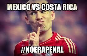 Costa Rica Meme - conoce los memes que arroj祿 el m礬xico vs costa rica