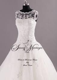 mariage chetre tenue robe de mariee princesse dentelle sur mesure pas chere