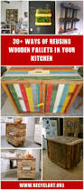 30 ways of reusing wooden pallets in your kitchen u2022 recyclart