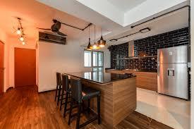 awesome open concept kitchen you u0027ll not believe it u0027s hdb flat