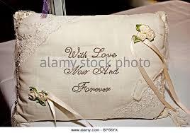wedding kneeling pillows wedding ring cushion stock photos wedding ring cushion stock