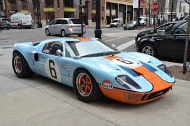 gulf gt40 2011 ford superformance gt40 stock gc1763b for sale near chicago