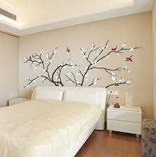 birds fly in plum tree wall stickers wallstickerdeal