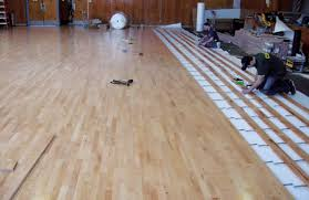sports flooring installation professional installs for gyms