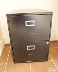 painting a file cabinet transform a boring black box file cabinet into a one of a kind