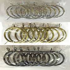 Large Drapery Rings Brass Curtain Rings Ebay