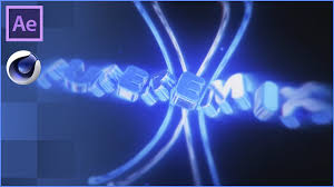 epic blue cinema 4d u0026 after effects intro template free download