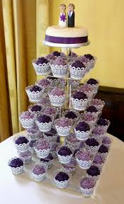 wedding cupcake tower purple wedding cupcake tower this was a lovely purple disp flickr