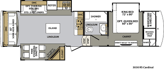 Salem Rv Floor Plans by Forest River Cardinal Floor Plans Fifth Wheel Forest Rv Dealer