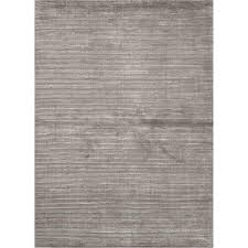 Solid Area Rugs Jaipur Rug100 Basis Solid Wool And Silk Handloom Medium Gray Area