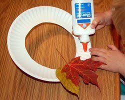 your will their own leaf wreaths for fall simply