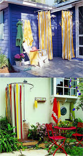 Removable Shower Curtain Rod by Outdoor Shower Curtain Rod Outdoor Designs
