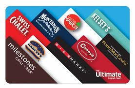 restaurants gift cards cara restaurants gift card 100 christmas hers