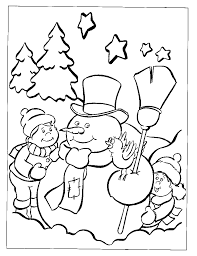 christmas coloring pages free printable kids archives free
