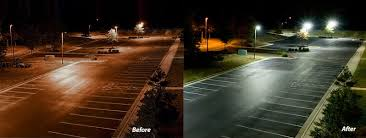 metal halide light color parking lot lighting synergy lighting