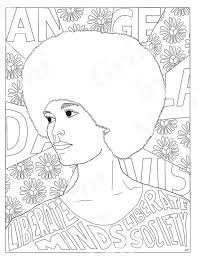 16 fabulous famous women coloring pages kids craft