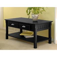 Wooden Coffee Table With Drawers Shop Coffee Tables At Lowes Com