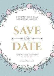 save the date designs design save the date invitations online fotojet