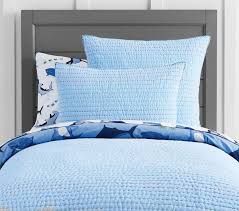 pick stitch quilted bed linen pottery barn kids