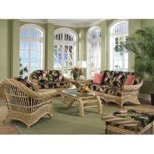 wicker living room chairs coastal living room sets you ll love wayfair