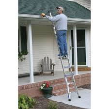22 ft ladder home depot black friday sale mt 22 22 ft type ia telescoping multiladder