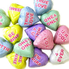 conversation hearts r m palmer chocolate conversation hearts 5lb