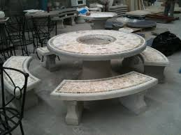 Cement Patio Table Cement Patio Tables Rizz Homes