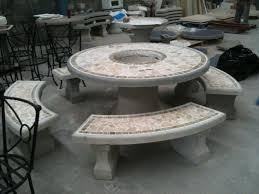 Concrete Patio Table Cement Patio Tables Rizz Homes