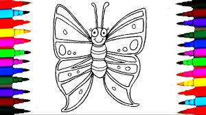 coloring pages butterfly l insect drawing pages to color for kids