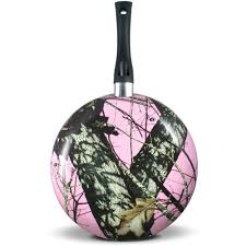 mossy oak 10in fry pan pink walmart