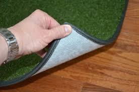 Indoor Outdoor Runner Rugs Dean Premium Heavy Duty Indoor Outdoor Oasis Green Artificial