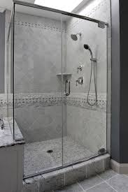 shower tile patterns bathroom traditional with accent tile accent
