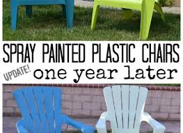 How To Paint An Adirondack Chair 12 Paint For Plastic Chairs Nest Candy Money Saving Monday How