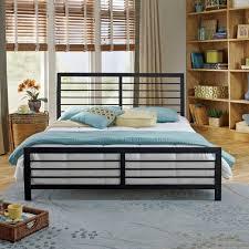 Premier Platform Bed Frame Premier Faith Metal Platform Bed Frame Walmart