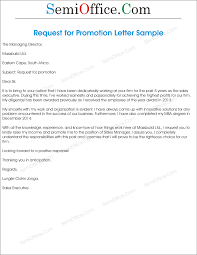 Business Letter Format For Request Letter Request For Promotion Pacq Co