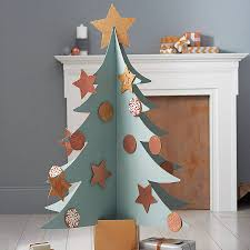 cardboard christmas trees how to make a christmas tree christmas